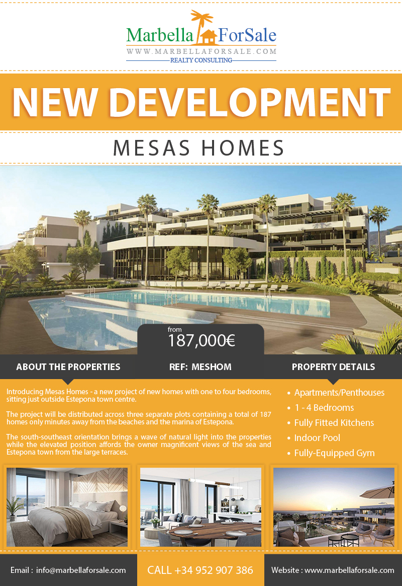 New Apartments and Penthouses For Sale - Estepona