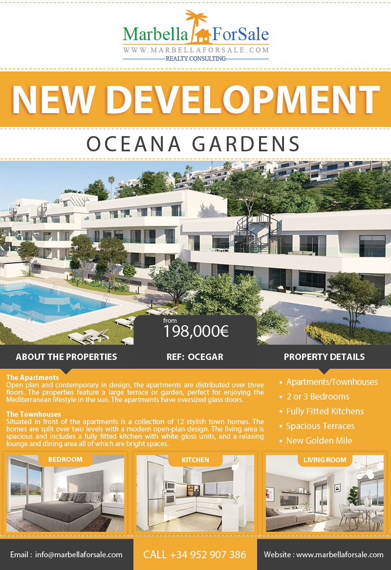 New Apartments and Townhouses For Sale - New Golden Mile
