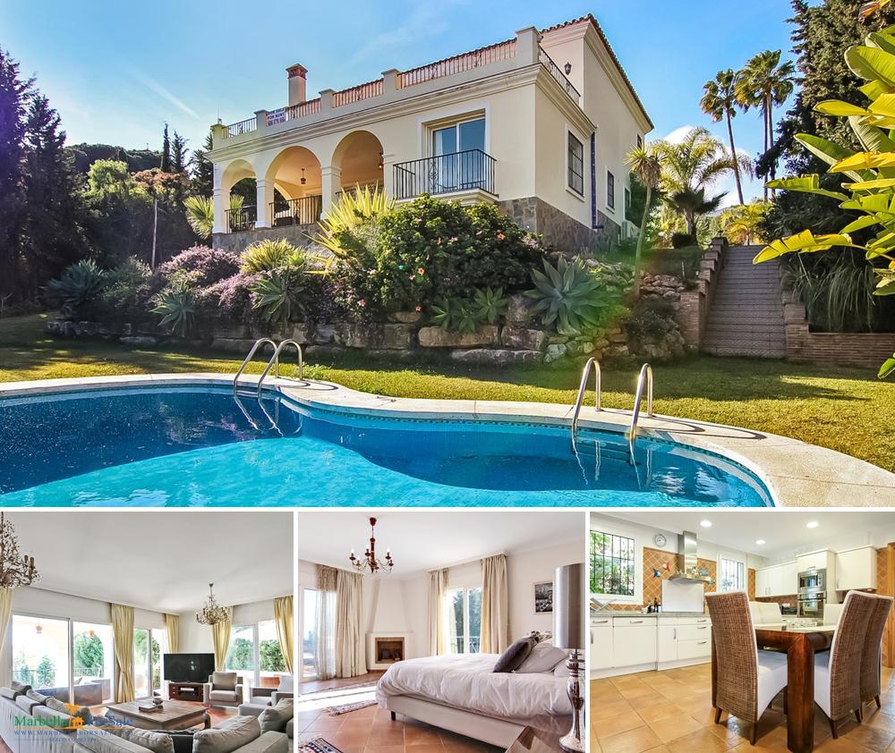 Large 4 Bed Villa For Sale - Nueva Andalucía