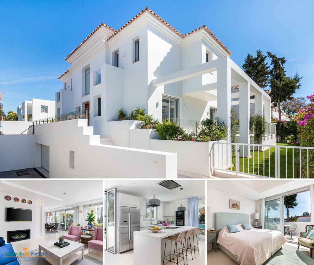 Modern 5 Bed Villa For Sale in Nueva Andalucía