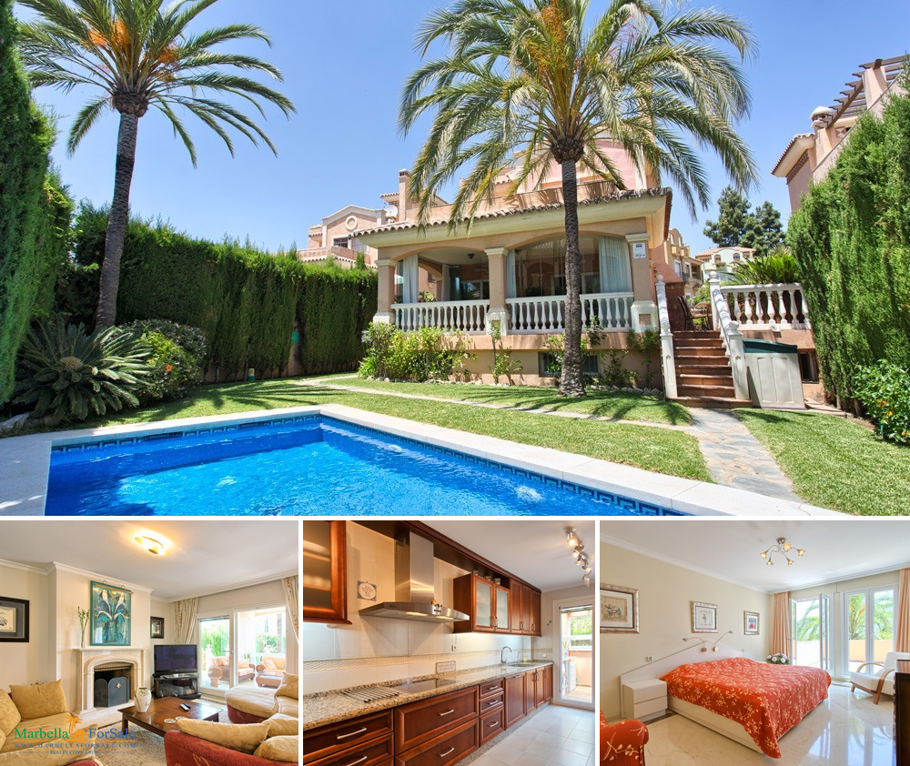 Spacious 6 Bed Villa For Sale in Marbella