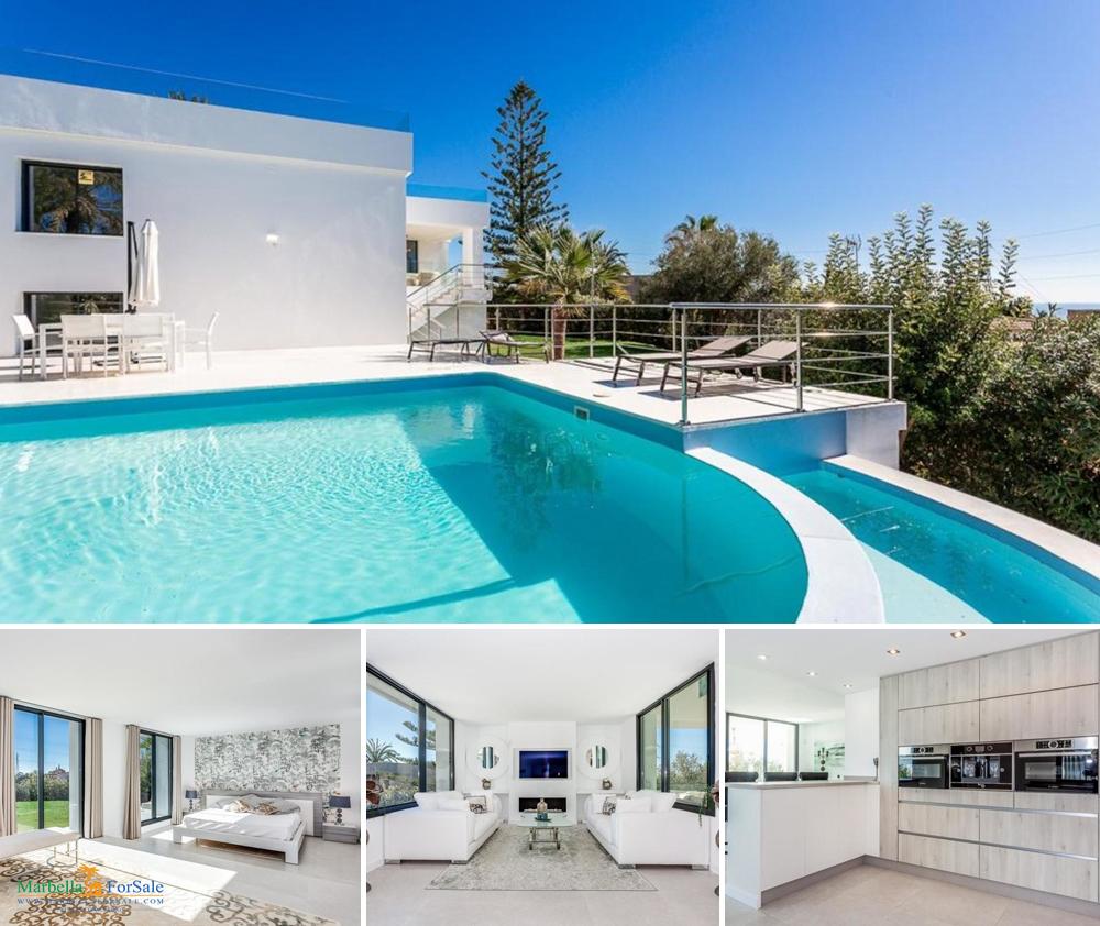 Luxury 4 Bed Villa For Sale in Nueva Andalucía