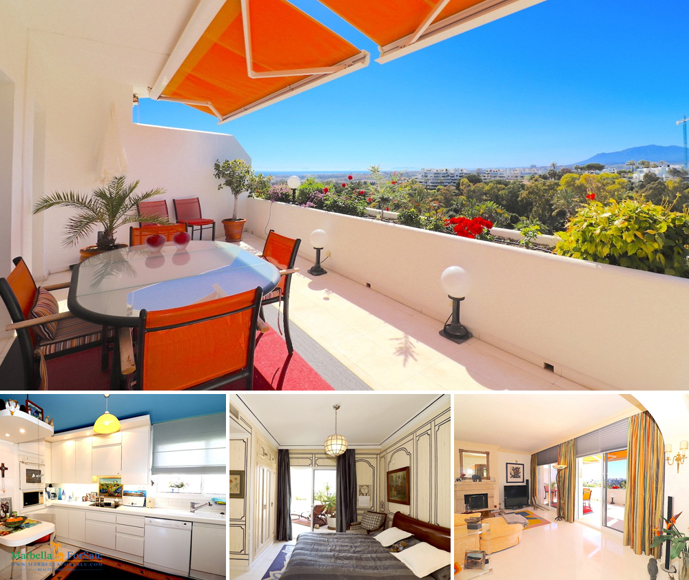 3 Bed Duplex Penthouse For Sale - Marbella