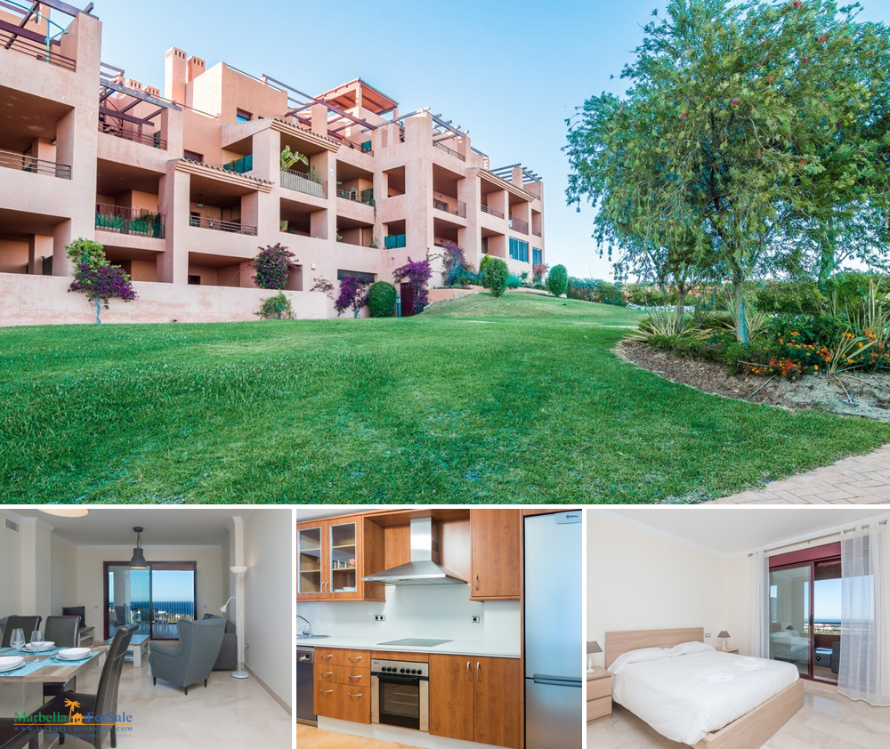 Large 2 Bed Apartment For Sale in Manilva