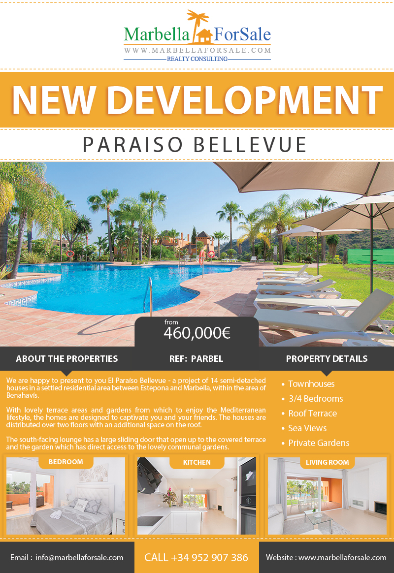 New Townhouses For Sale in El Paraiso