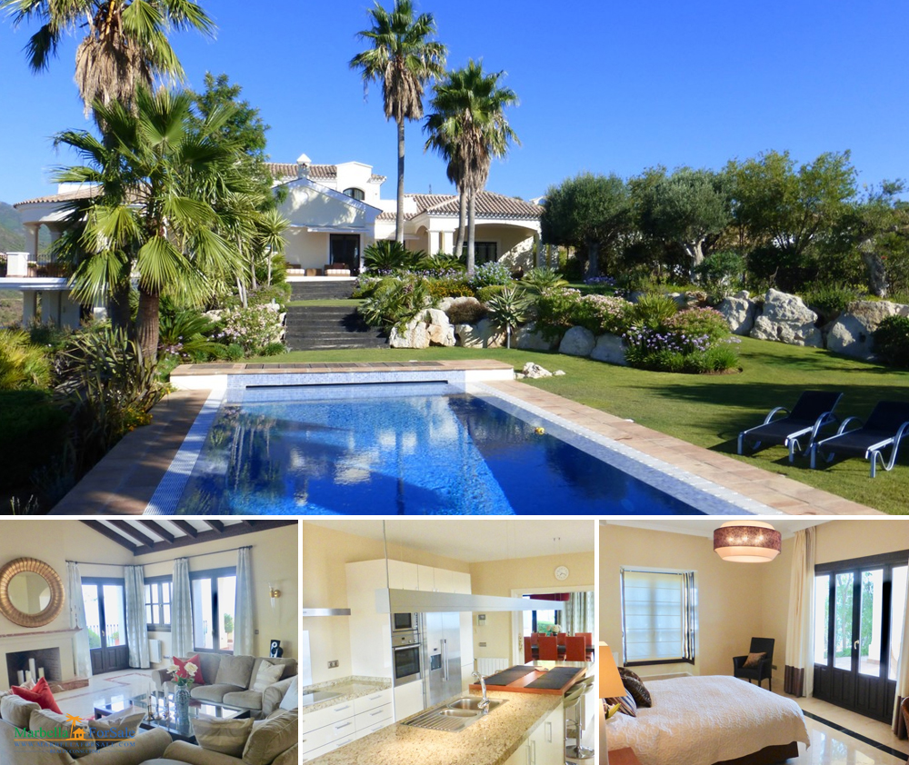 Stunning 6 Bed Villa For Sale in Benahavís