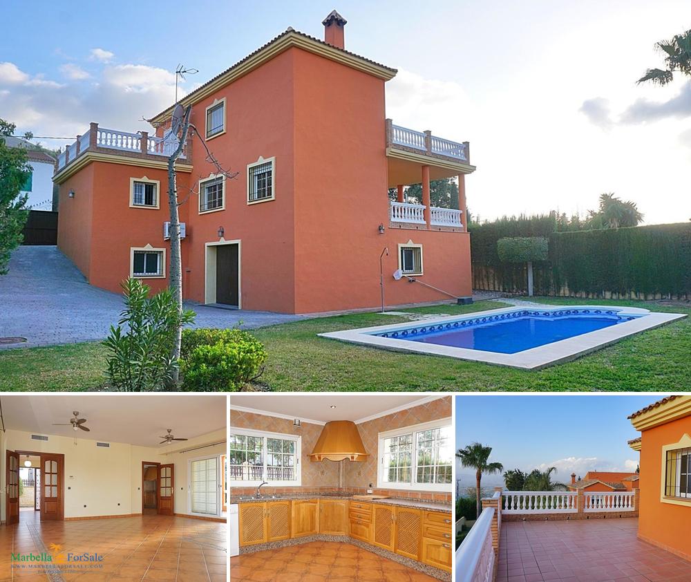 Lovely 4 Bed Villa For Sale in Alhaurín el Grande