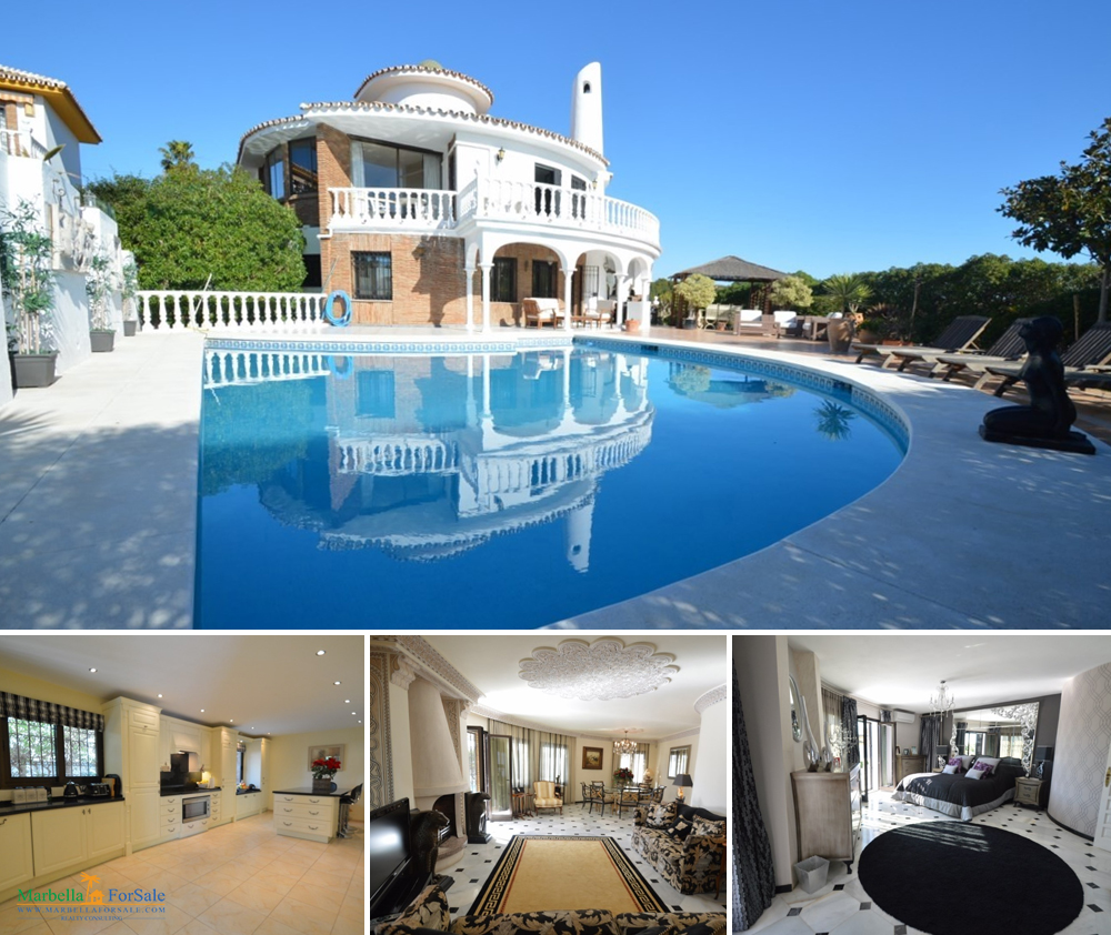 6 Bed Villa For Sale in Mijas Costa