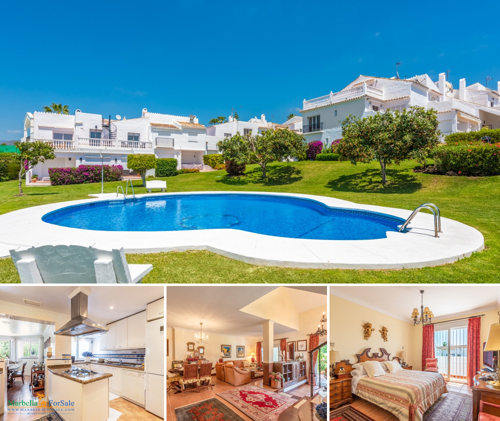 Spacious 3 Bed Townhouse For Sale - Nueva Andalucía