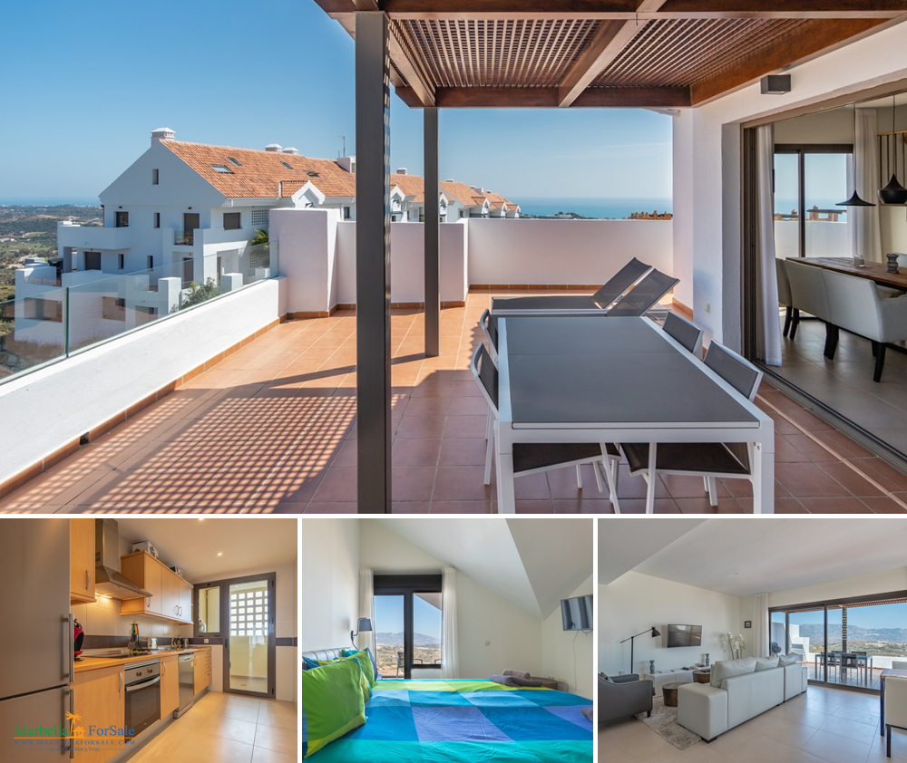 3 Bed Penthouse For Sale - Calanova Golf