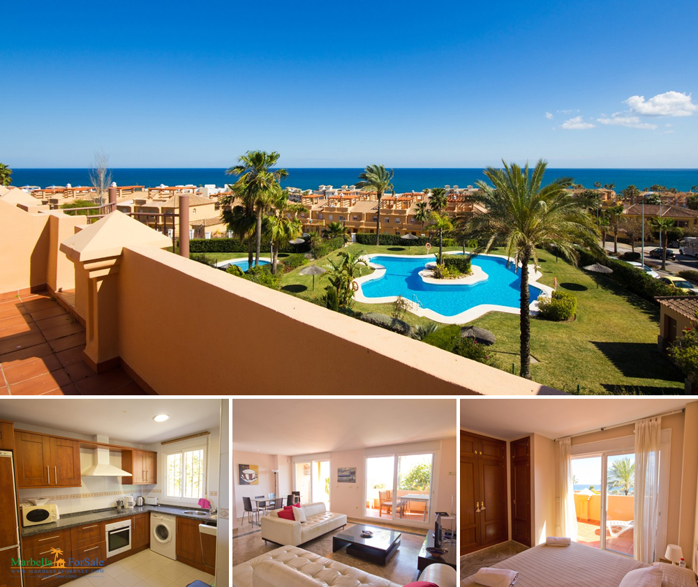 Lovely 3 Bed Townhouse For Sale in Estepona