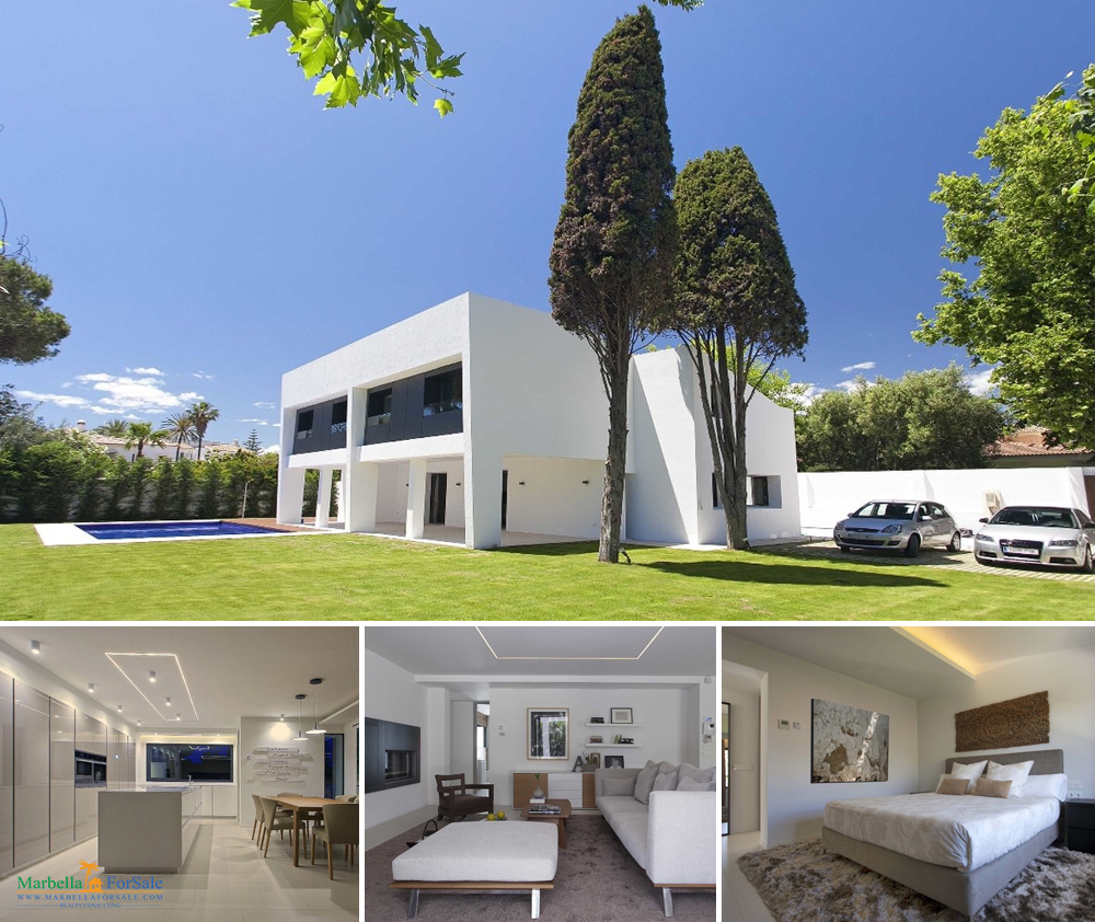 Modern 4 Bed Villa For Sale in Puerto Banús