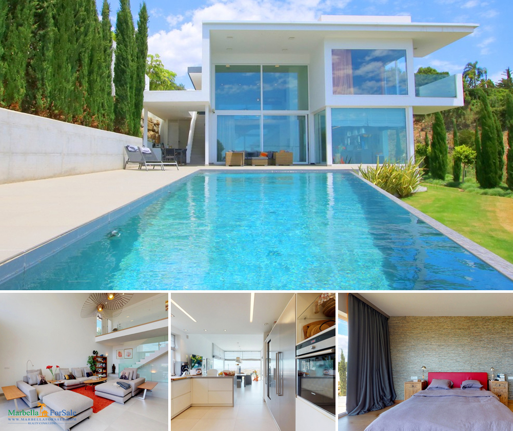Stunning 4 Bed Villa For Sale in Benalmadena