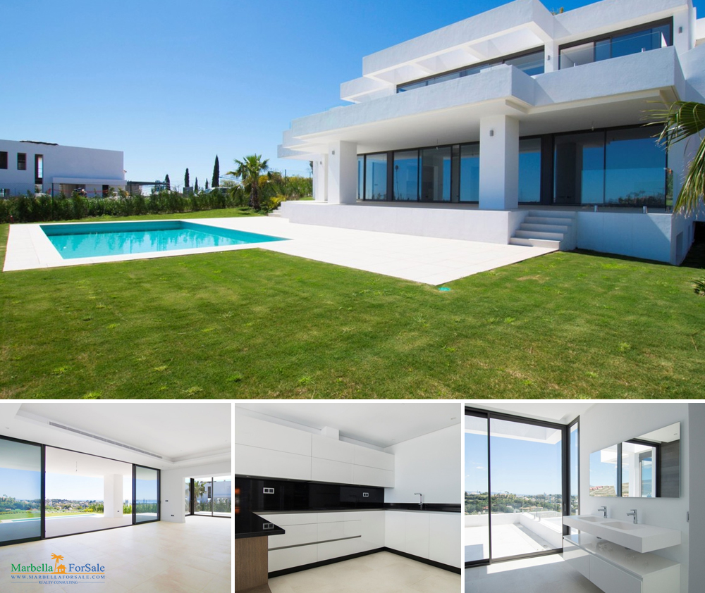 Modern 4 Bed Villa For Sale - Los Flamingos
