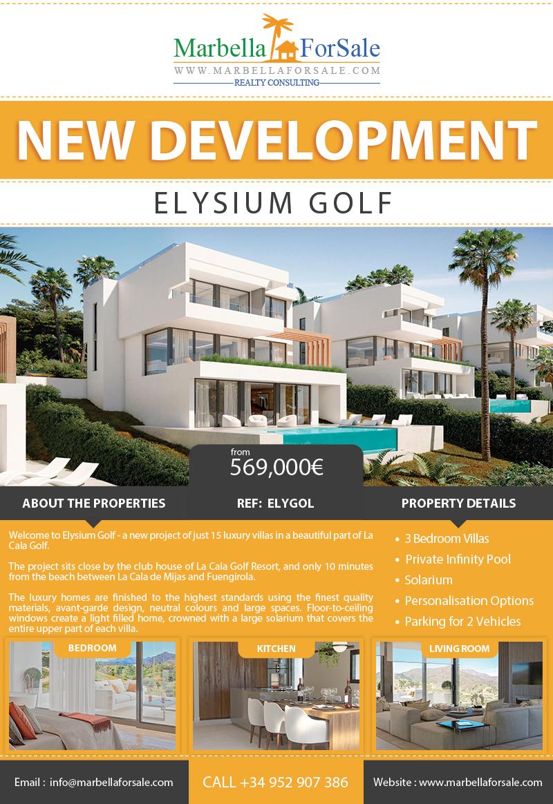 New Luxury Villas For Sale in La Cala Golf