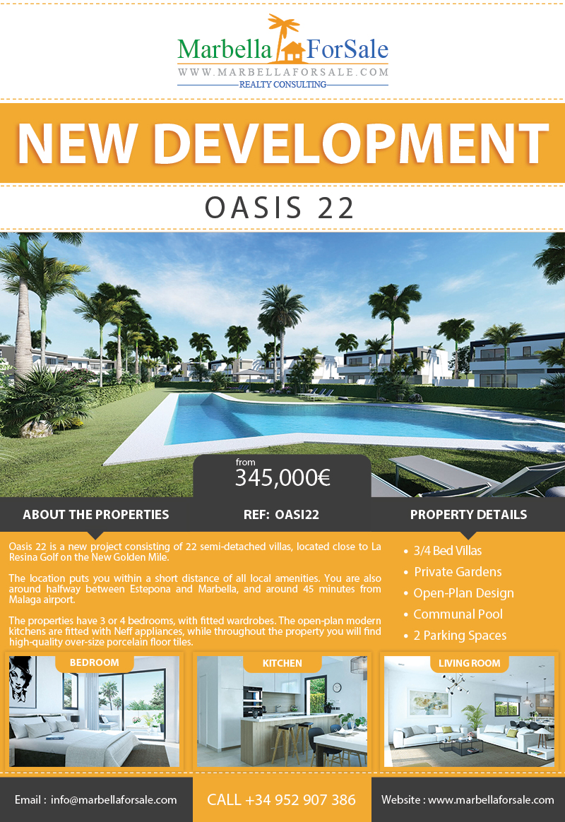 New Luxury Villas For Sale - New Golden Mile