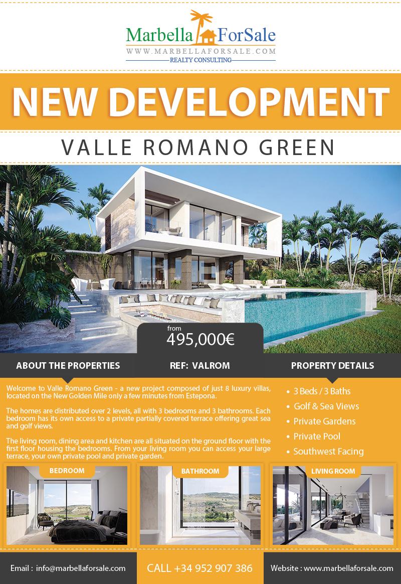 8 New Luxury Villas For Sale in Estepona