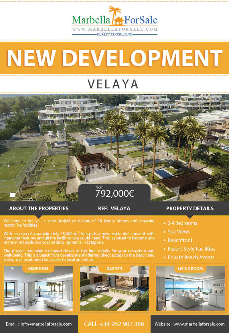 New Luxury Properties For Sale in Estepona