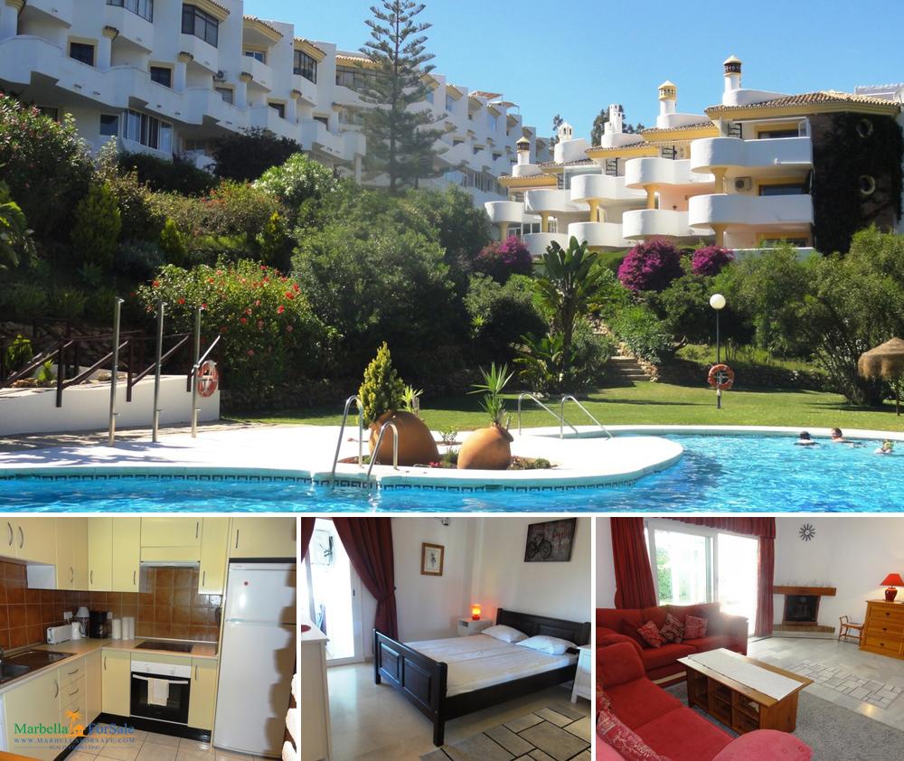 2 Bed Ground Floor Apartment in Calahonda