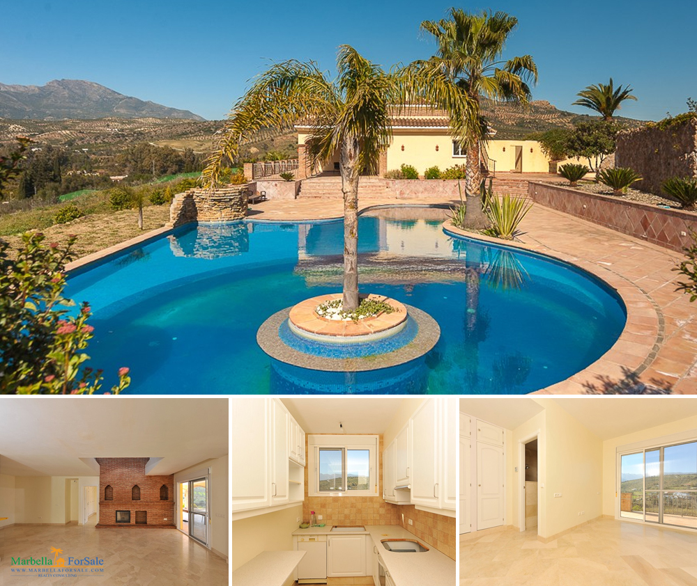 Lovely 7 Bed VIlla For Sale in Guaro