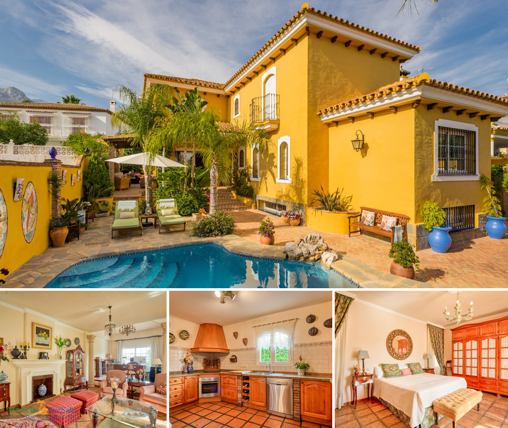 Beautiful 4 Bed Villa For Sale in Marbella