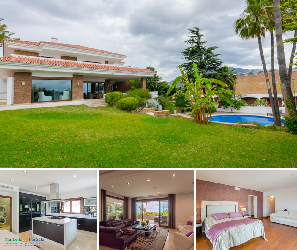 Lovely 6 Bed Villa For Sale - Nueva Andalucía