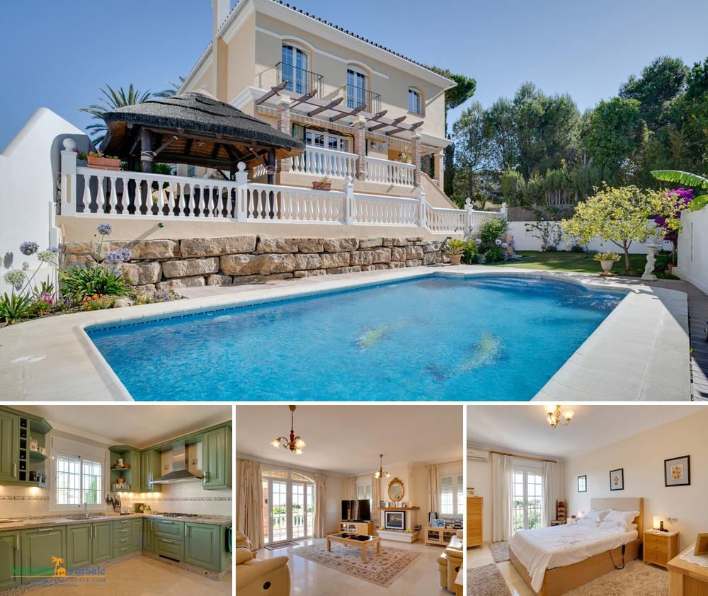 Lovely 3 Bed Villa For Sale in Estepona