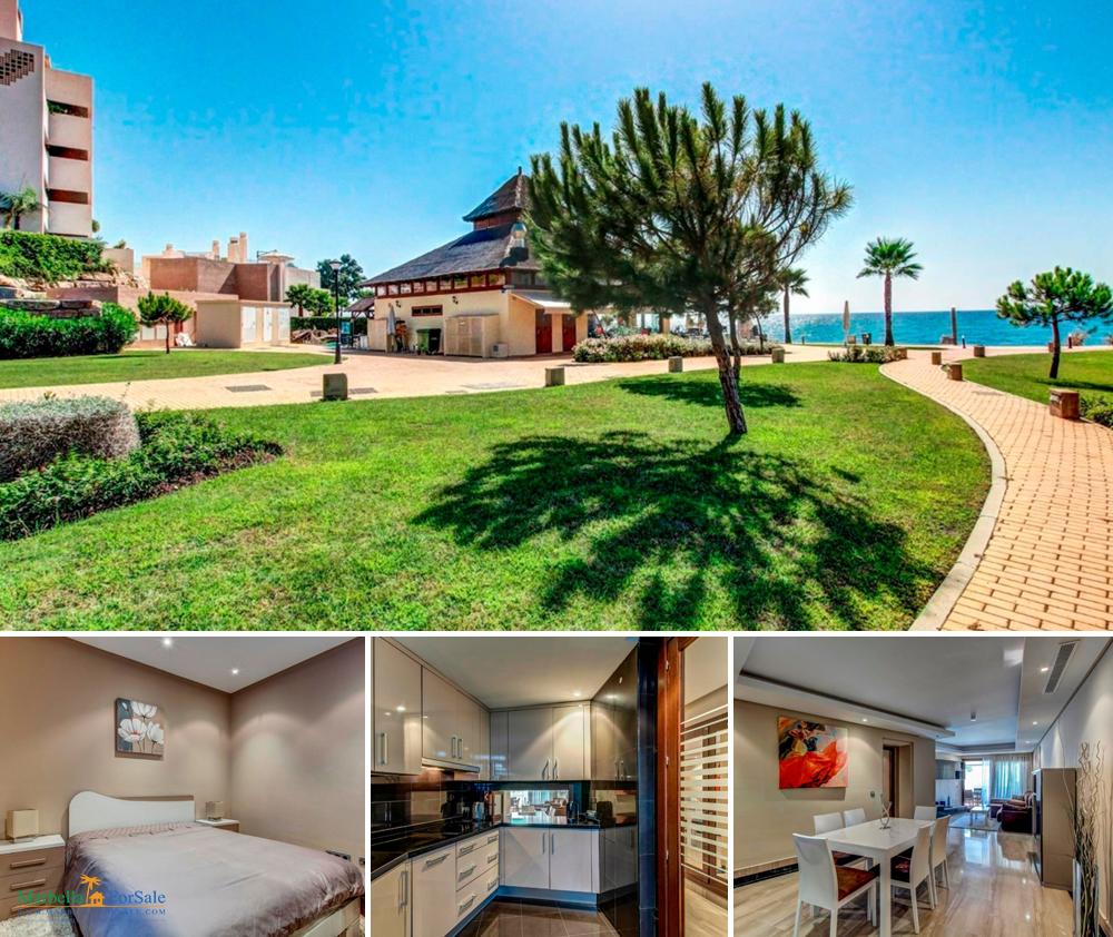 Beachfront 3 Bed Apartment - New Golden Mile