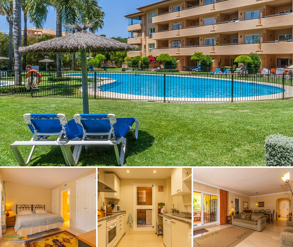 3 Bed Ground Floor Apartment For Sale - Elviria
