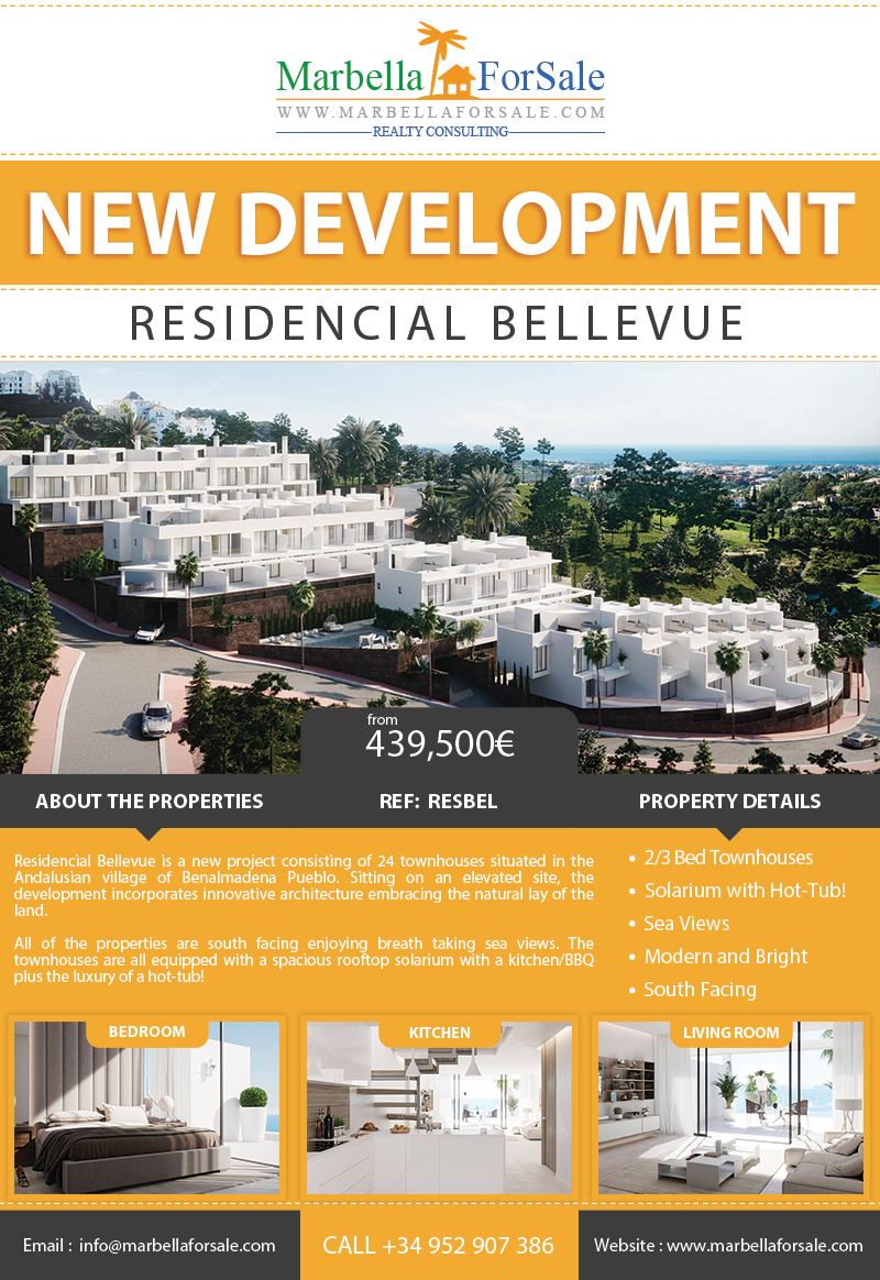 New Townhouses For Sale in Benalmadena
