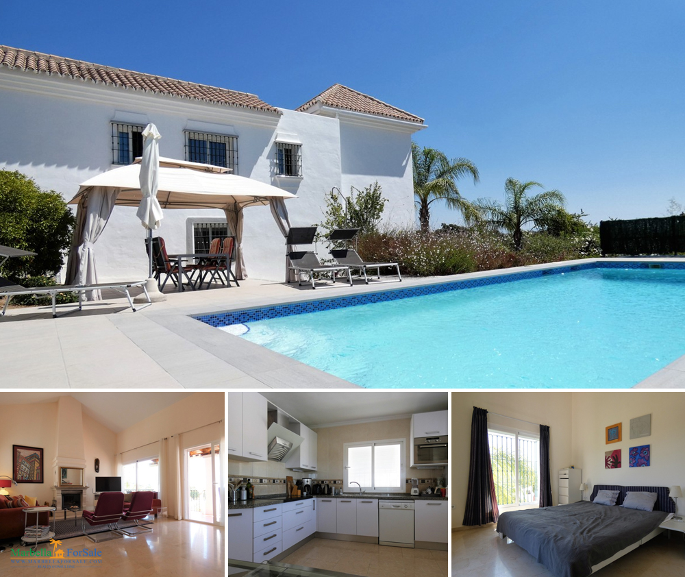 Lovely 5 Bed Villa For Sale in Coín