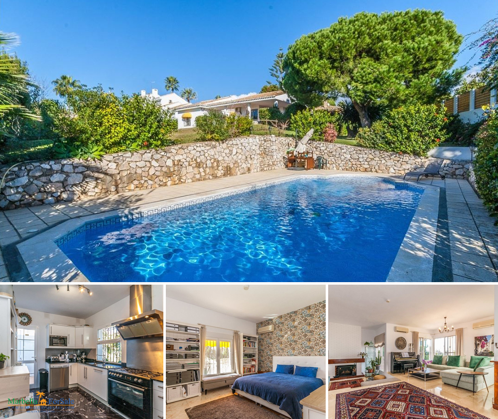 REDUCED! 3 Bed Villa For Sale in Calahonda