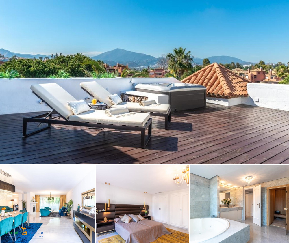 Stunning Penthouse For Sale in Guadalmina