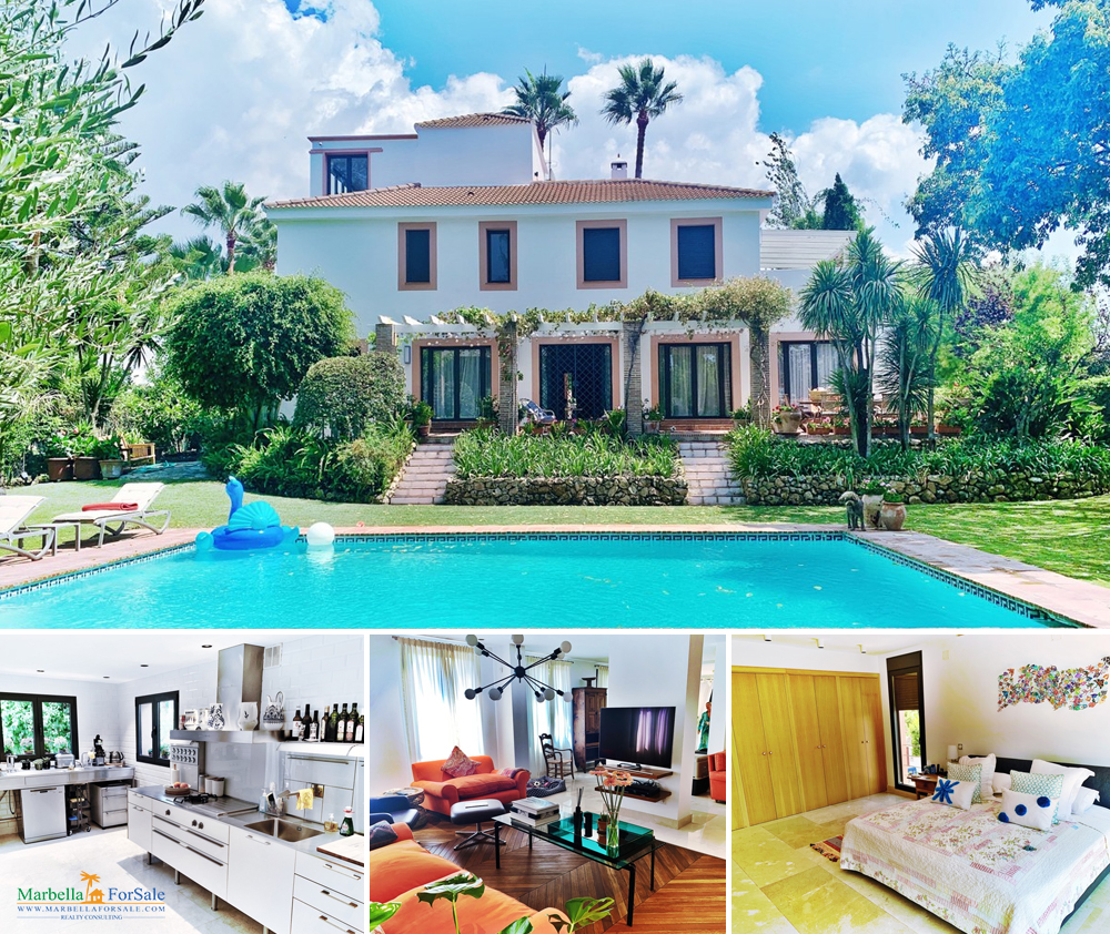 Stunning 7 Bed Villa For Sale - Nueva Andalucía