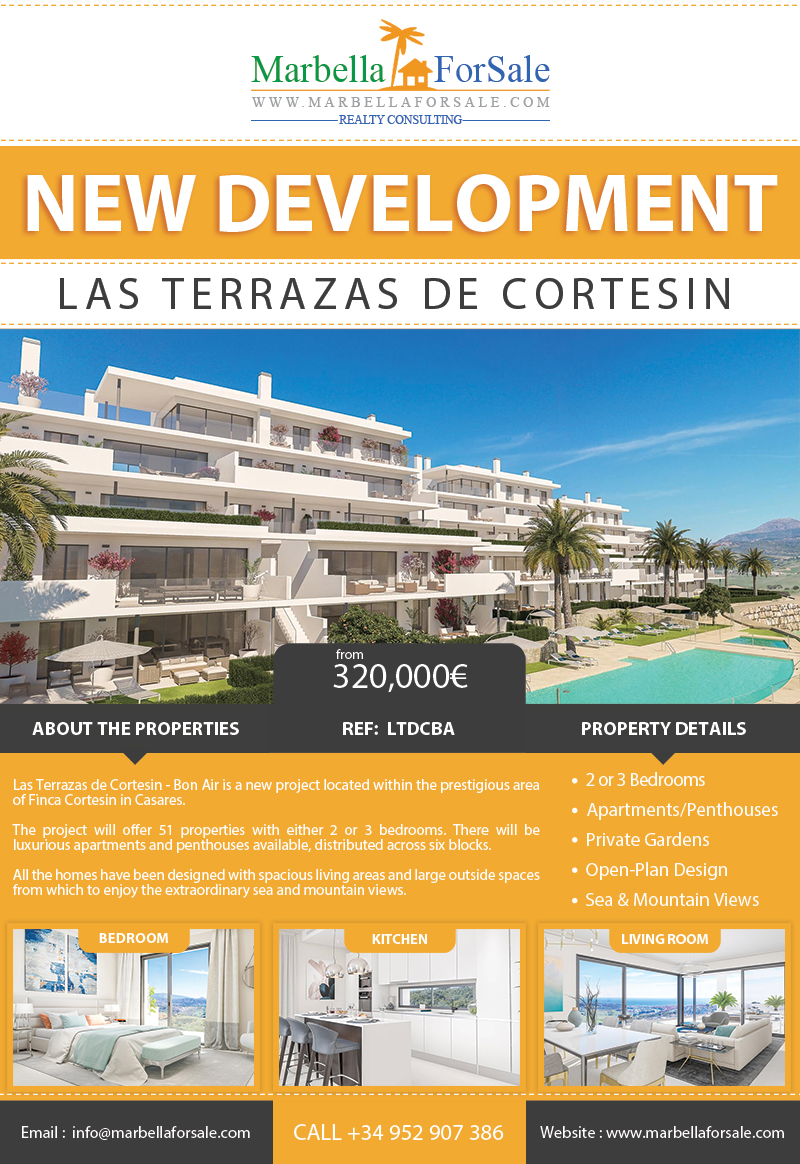 New Luxury Homes For Sale in Casares