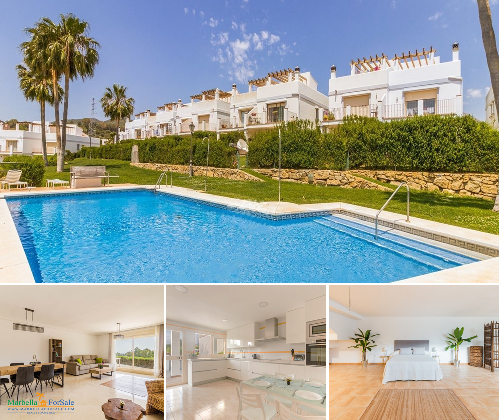 Spacious 4 Bed Townhouse For Sale - Estepona