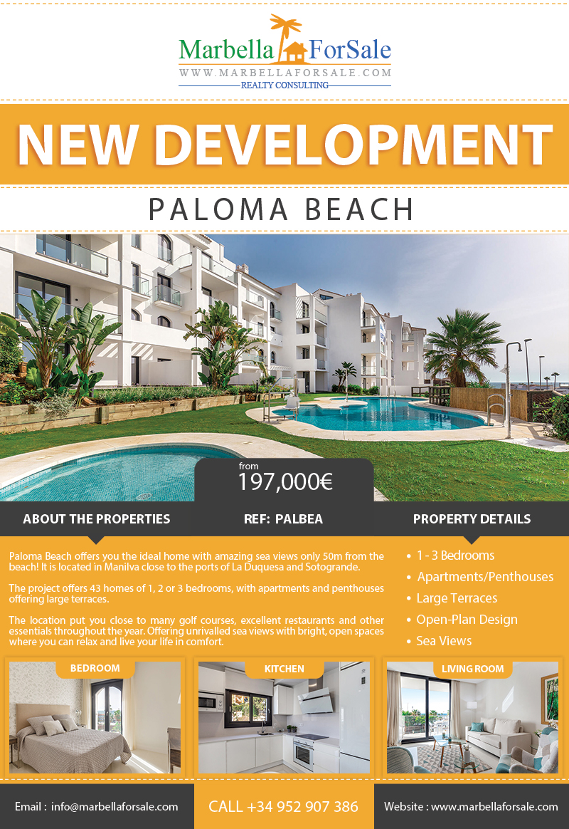 New Project For Sale in Manilva
