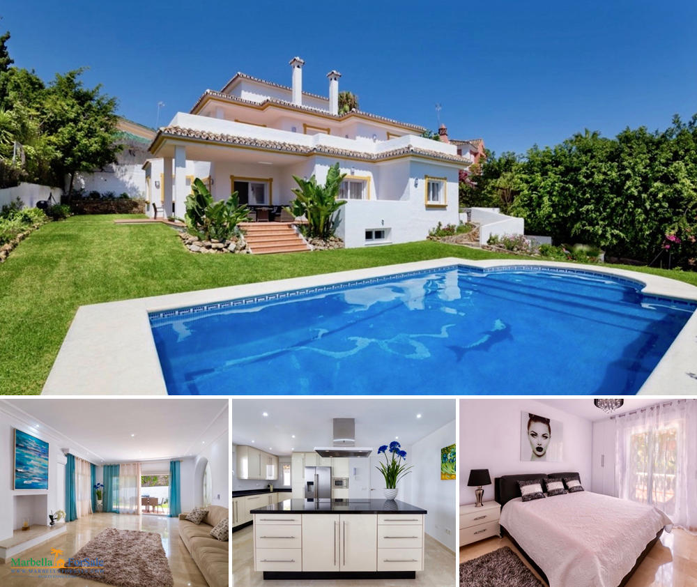 Luxury 6 Bed Villa For Sale in Puerto Banús