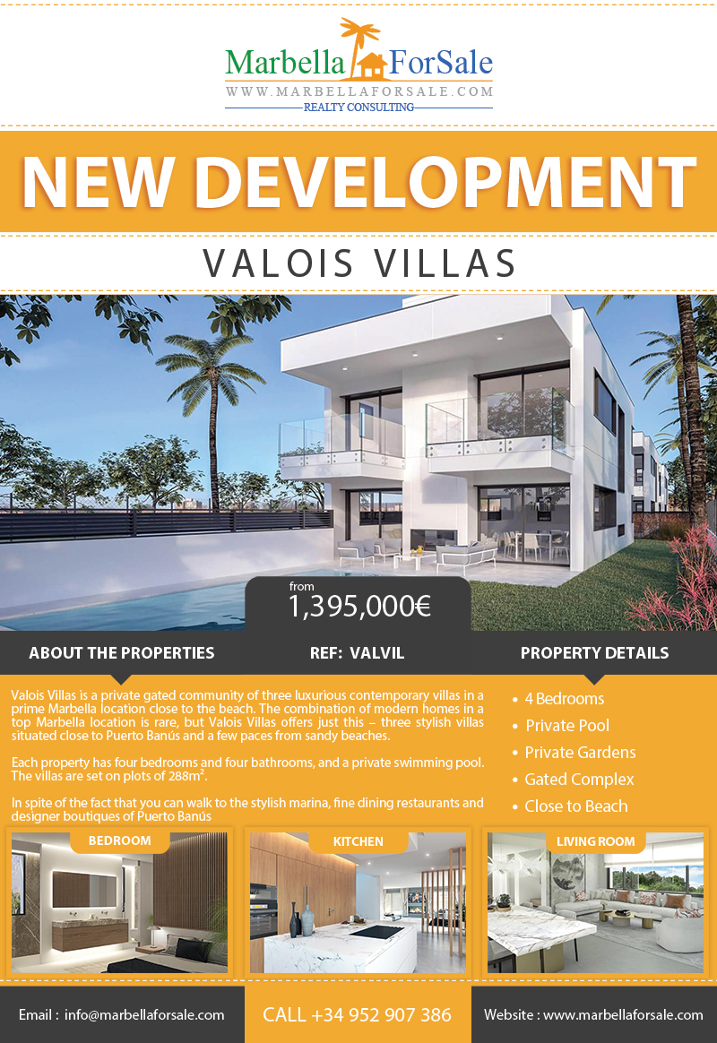 New Luxury Villas For Sale - Puerto Banús