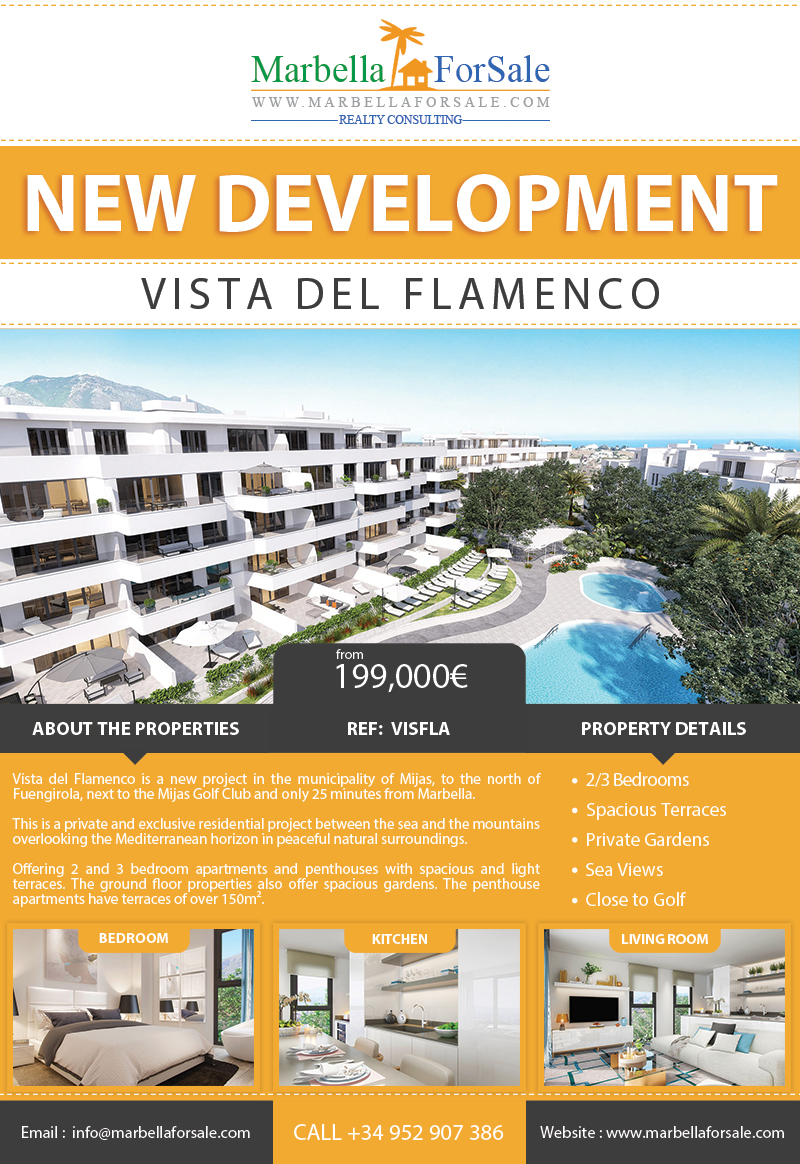 New Apartments For Sale in Mijas