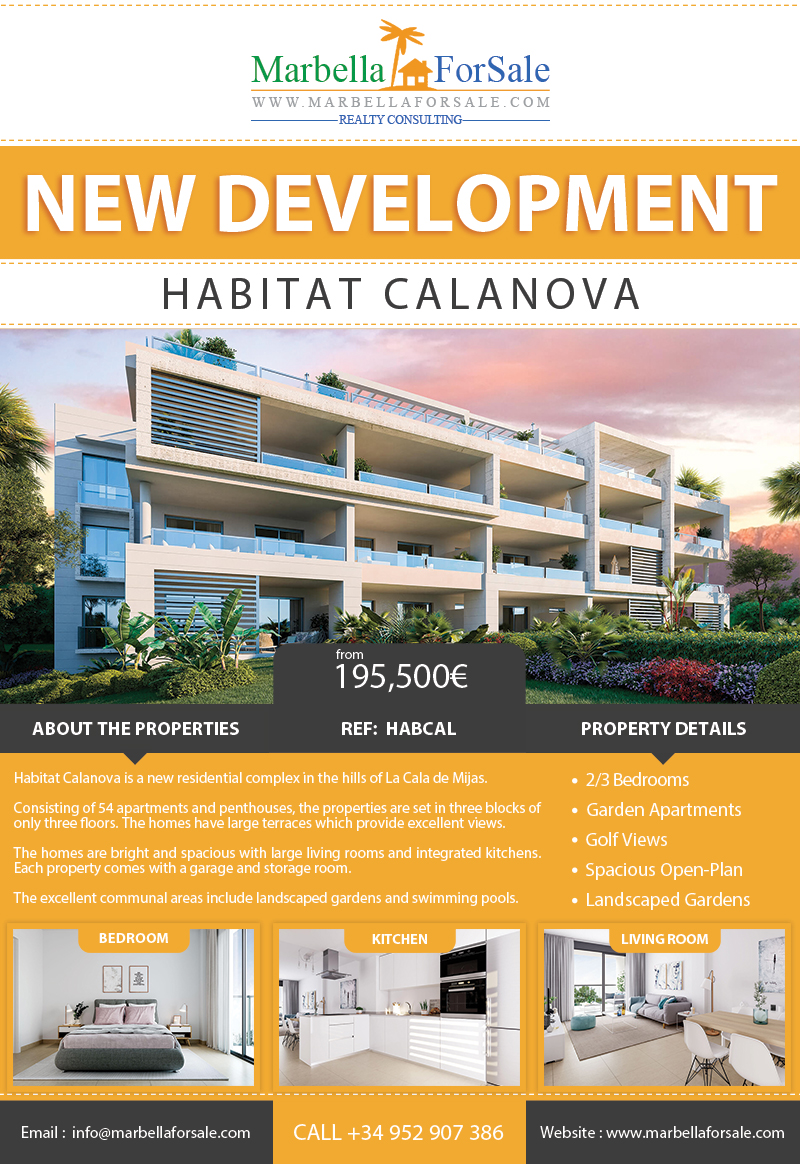 New Apartments in La Cala de Mijas