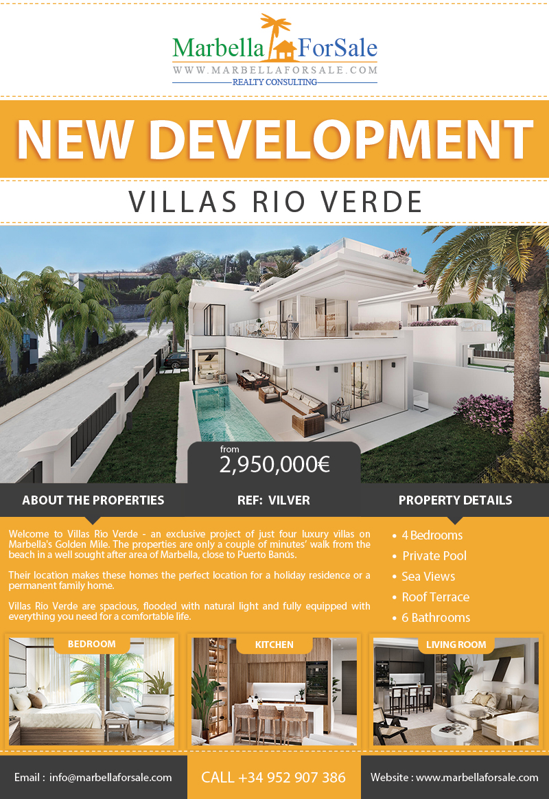 New Luxury Villas For Sale - Marbella