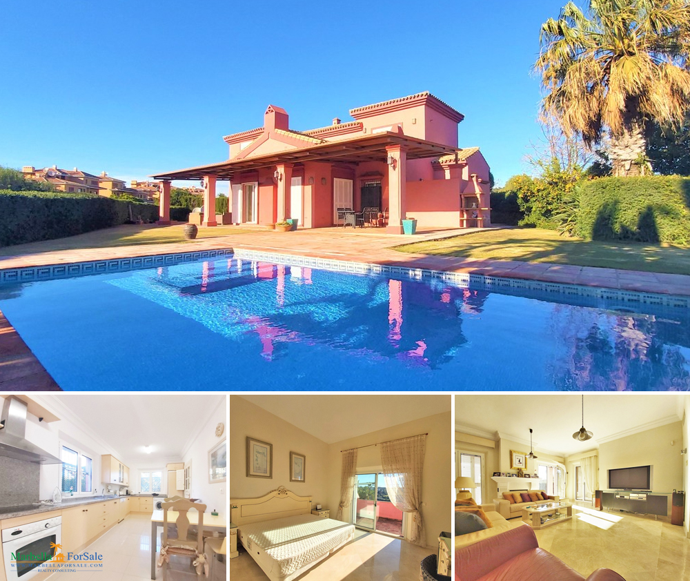 Beautiful 4 Bed Villa For Sale in Sotogrande