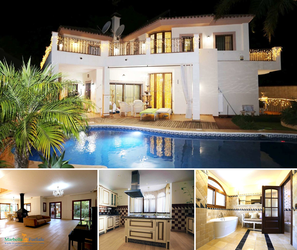 5 Bed Luxury Home For Sale in Guadalmina