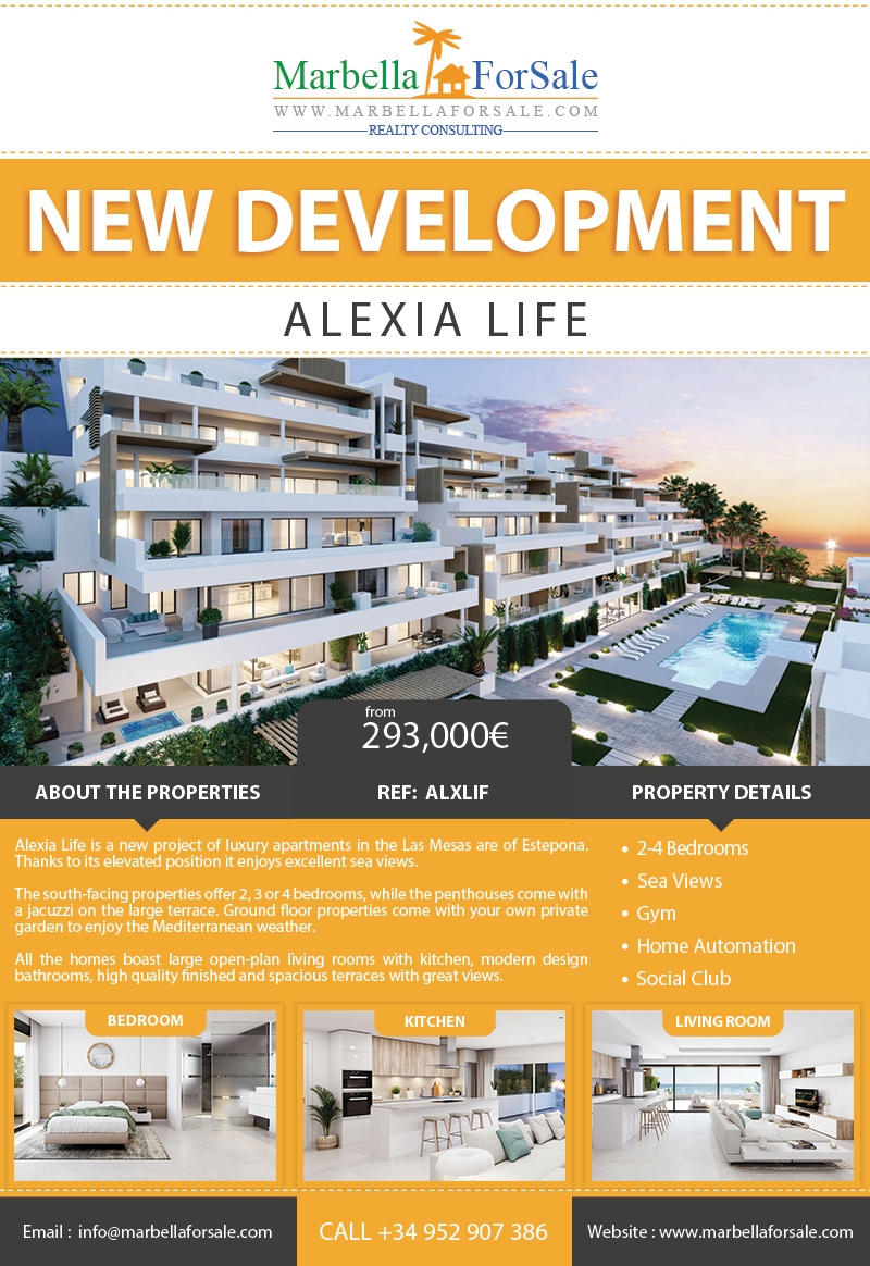 New Homes For Sale in Las Mesas - Estepona