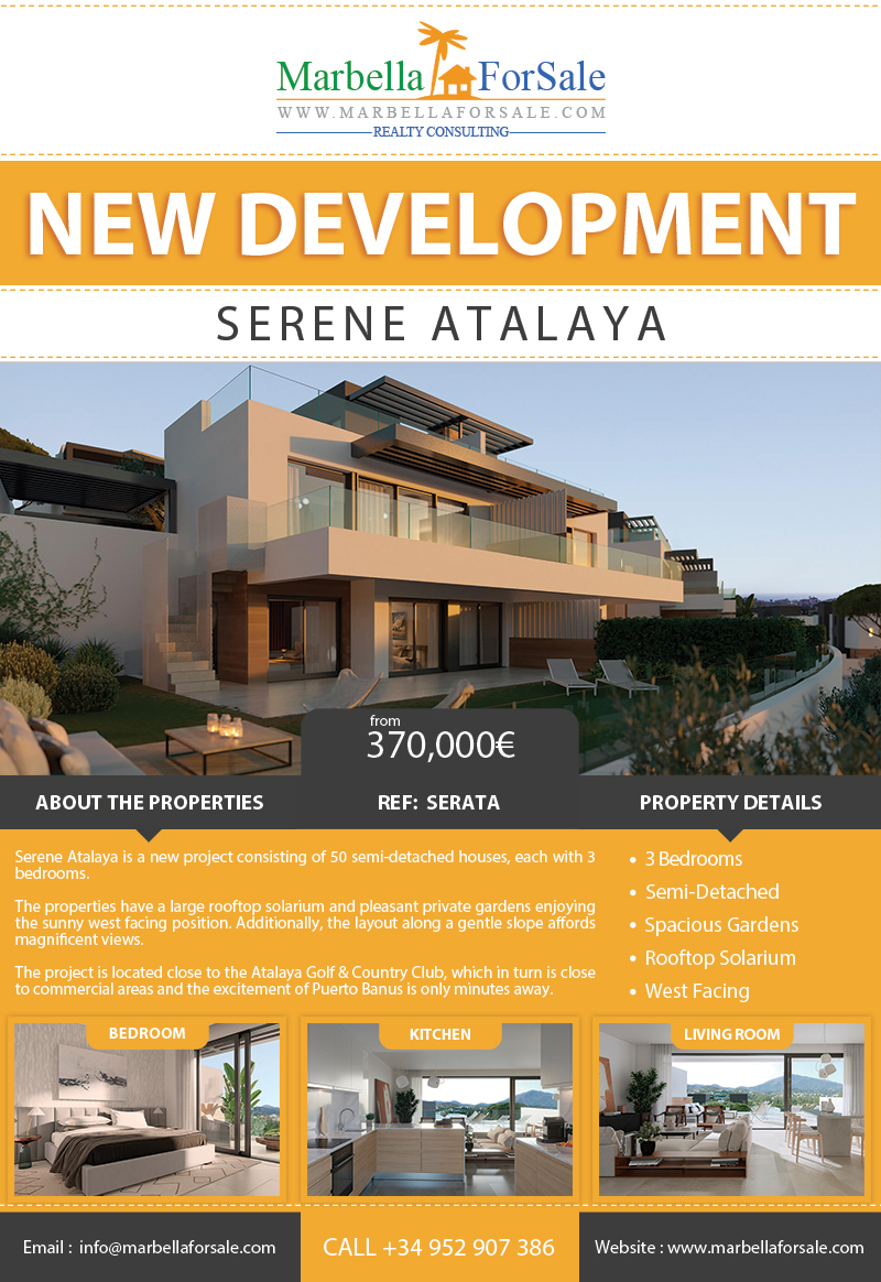 New Homes For Sale in Estepona