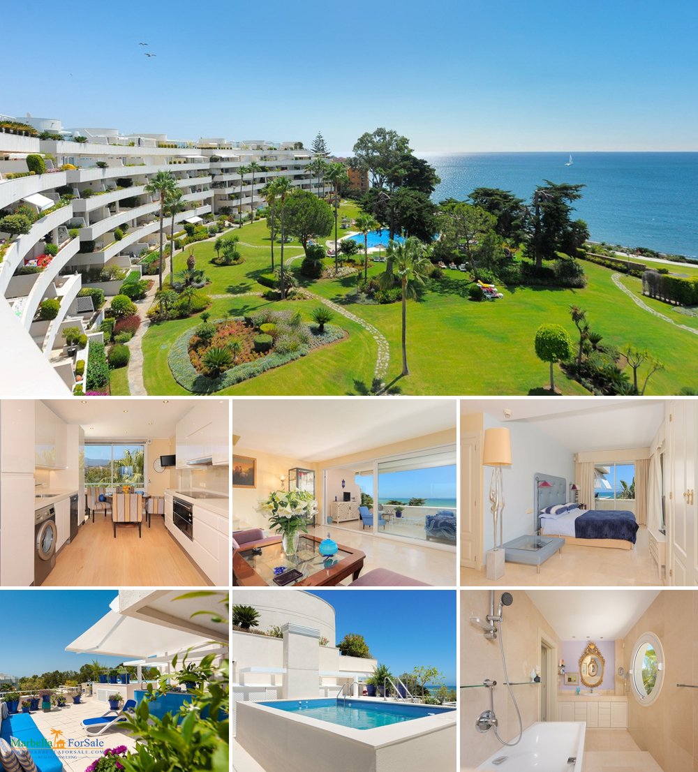 Beautiful BeachFront Penthouse in Estepona