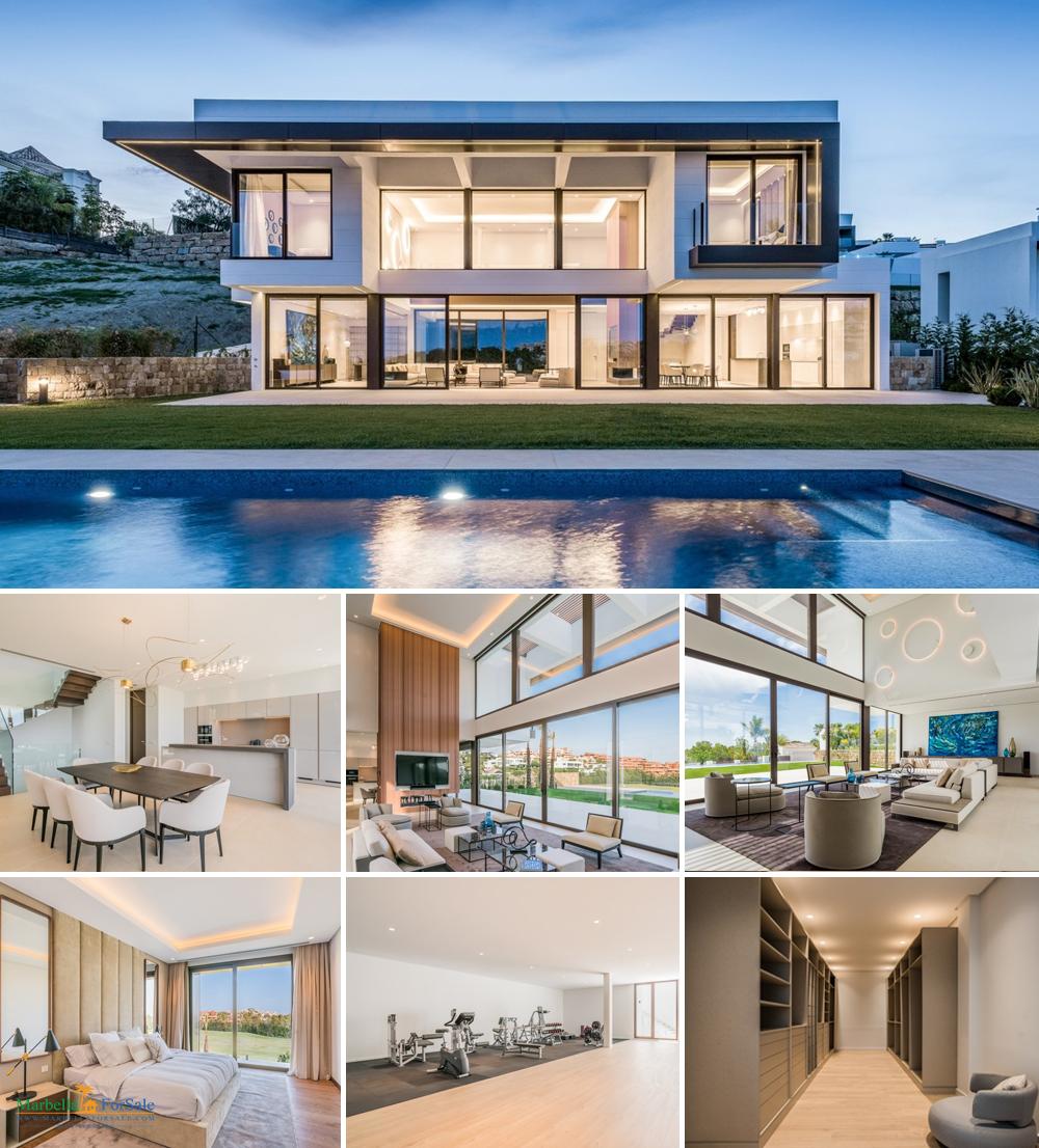 Stunning Modern 5 Bed Villa in Benahavís