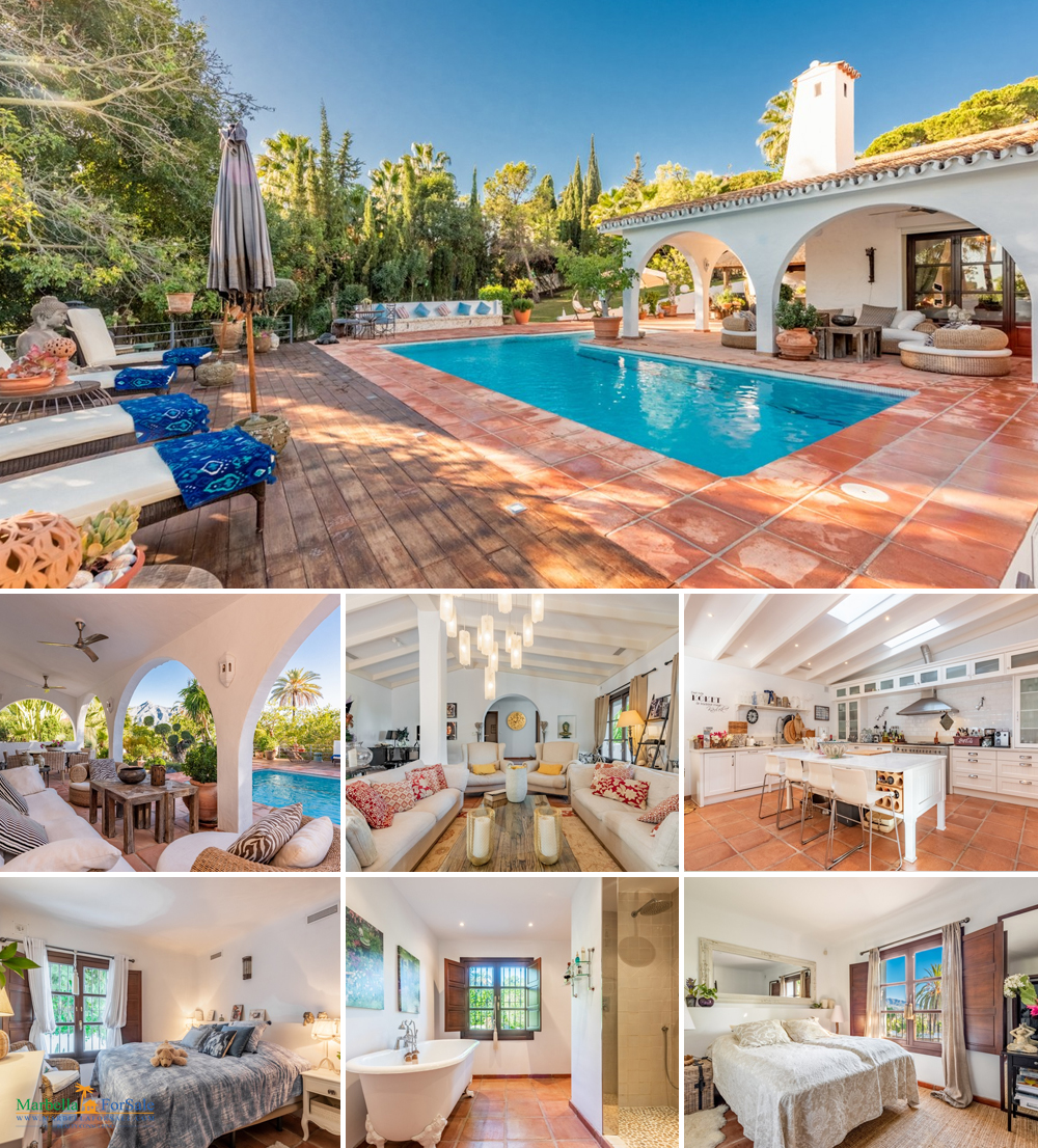 Lovely 4 Bed Villa For Sale - Nueva Andalucía