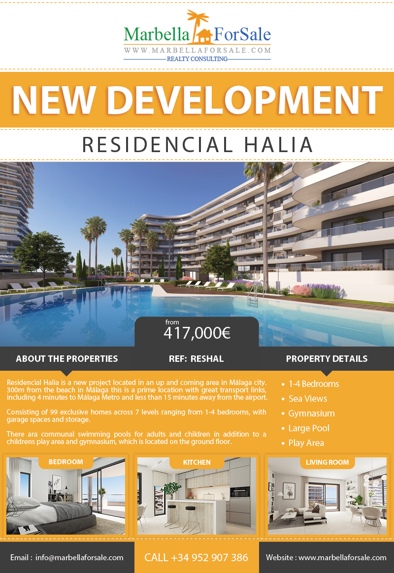 New Homes For Sale in Malaga